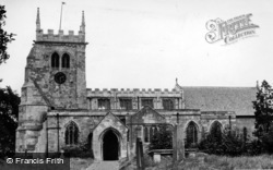 Sherburn-In-Elmet, All Saints Church c.1950