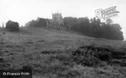 Sherburn-In-Elmet, All Saints Church c.1960