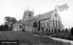 Sherburn-In-Elmet, All Saints Church c.1965