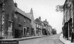Sherburn-In-Elmet, High Street c.1950
