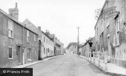 Sherburn-In-Elmet, Kirkgate c.1950