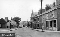Sherburn-In-Elmet, Low Street c.1950
