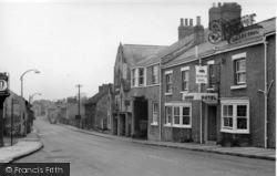 Sherburn-In-Elmet, Low Street c.1955