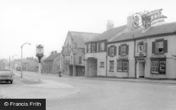 Sherburn-In-Elmet, Main Road c.1965