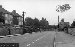 Sherburn-In-Elmet, Moor Lane c.1955