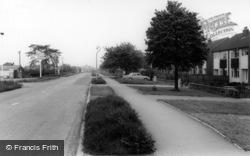 Sherburn-In-Elmet, Moor Lane c.1960