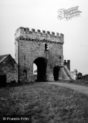 Sherburn-In-Elmet, Steeton Hall Gatehouse 1955