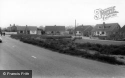 Sherburn-In-Elmet, The Moor Lane Estate c.1960