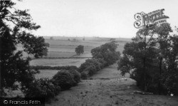 Sherburn-In-Elmet, The View From Church Hill c.1955