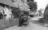 Shere, A Carriage, Upper Street 1904