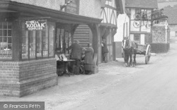 Shere, A Shop In The High Street 1932