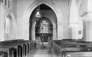Shere, Church Interior 1902