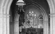 Shere, Church Interior 1907