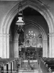 Shere, Church Interior 1907