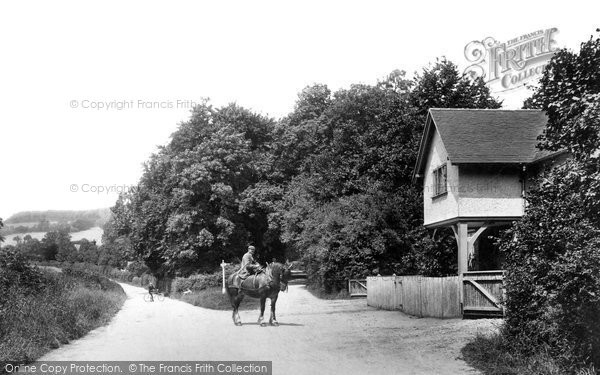 Photo of Shere, Combe End 1904
