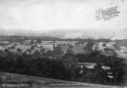 Shere, From The Hills 1902