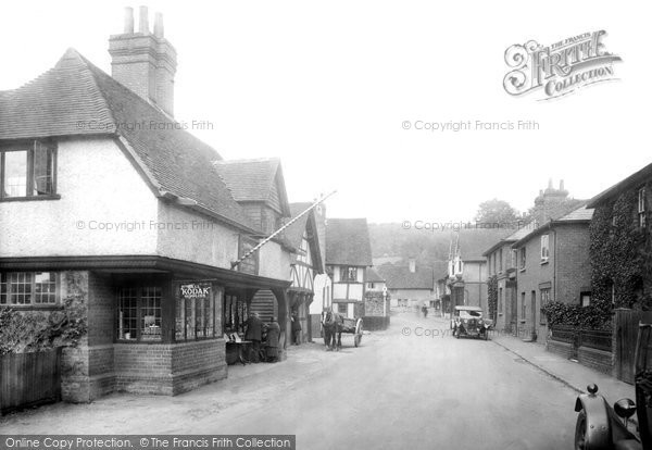 Photo of Shere, High Street 1932