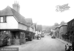Shere, High Street 1932