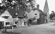 Shere, Horse And Cart In The Village 1921