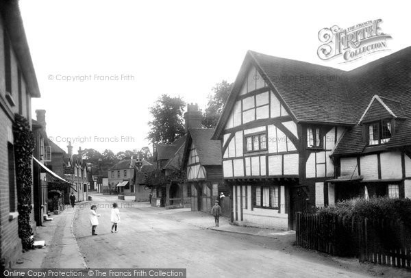 Photo of Shere, Middle Street 1924