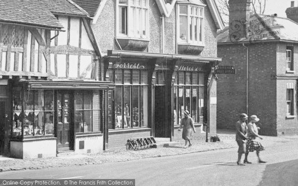 Photo of Shere, Post Office And Stores 1932