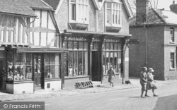 Shere, Post Office And Stores 1932