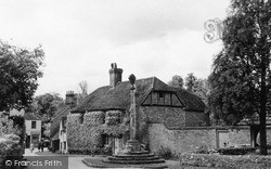 Shere, Pretty Snap In The Village c.1950