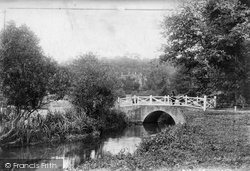 Shere, Rectory Bridge 1904