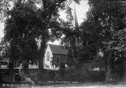 Shere, St James Church 1902