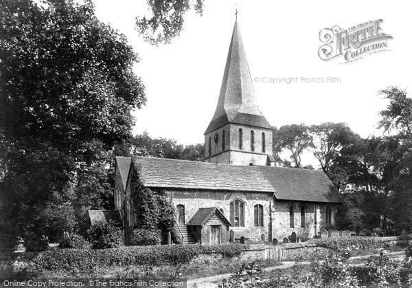 Photo of Shere, St James' Church 1904