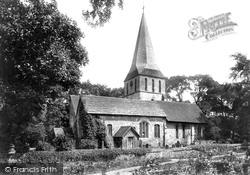 Shere, St James' Church 1904
