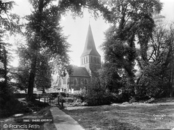 Shere, St James' Church 1921