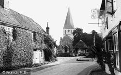 Shere, St James' Church c.1955