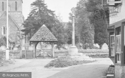 Shere, St James Church, Lychgate 1921