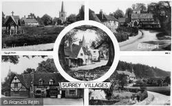 Shere, Surrey Villages c.1950