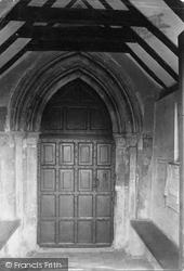 Shere, The Church Doorway 1911
