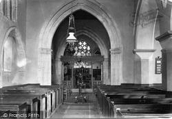Shere, The Church Interior 1911