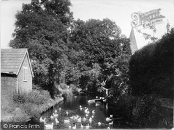Shere, The Stream 1924
