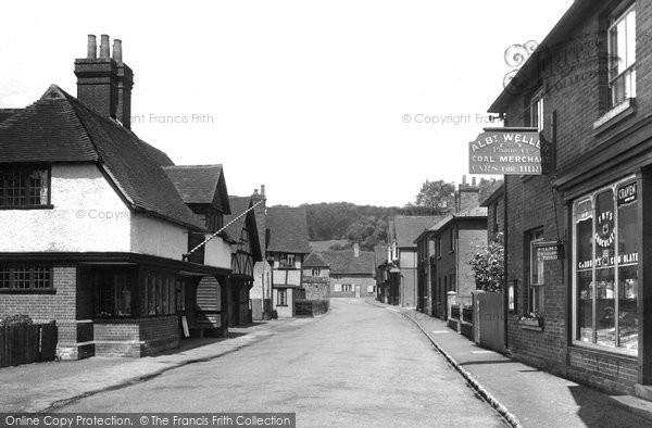 Photo of Shere, the Village 1938, ref. 88332