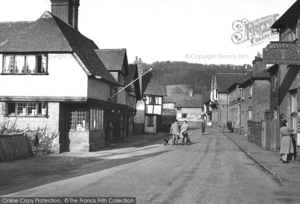 Photo of Shere, The Village c.1955