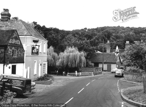 Photo of Shere, the Village c1960, ref. S114037