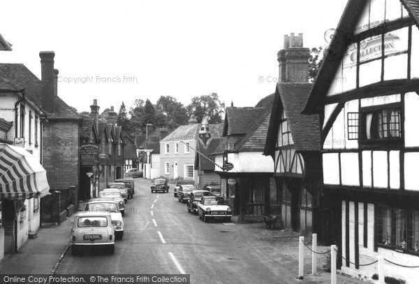Photo of Shere, The Village c.1960