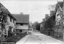 Shere, Upper Street 1907