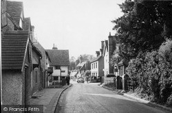 Shere, Upper Street c.1950