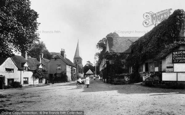 Photo of Shere, Village 1903