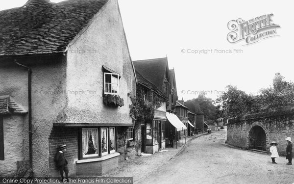 Photo of Shere, Village 1904