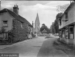 Shere, Village And St James Church 1921