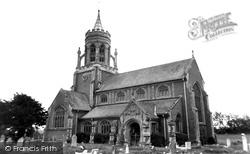 St Leonard's Church c.1965, Sherfield English
