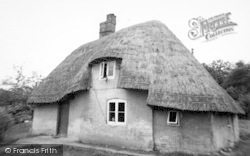 Sherfield English, Thatched Cottage c.1965