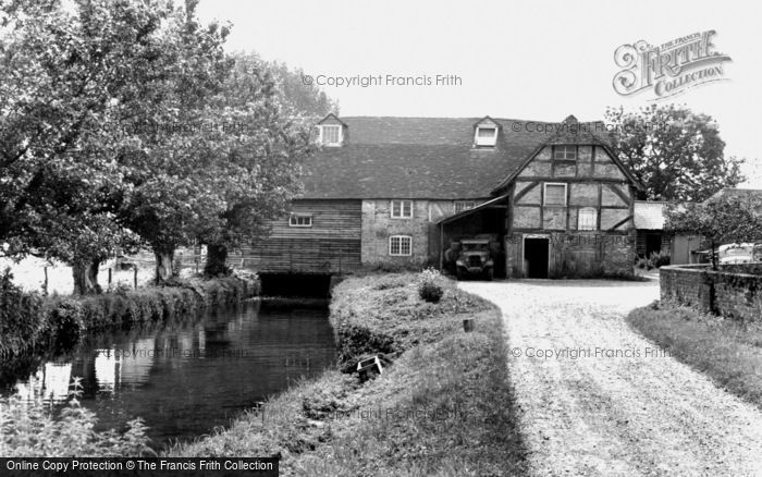 Sherfield on Loddon,the Mill c1955,Hampshire